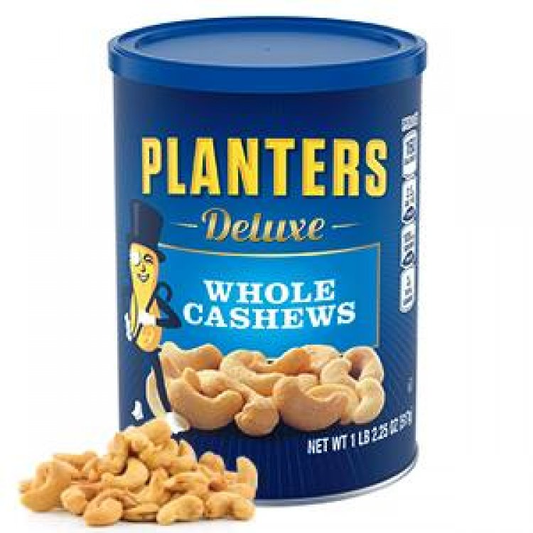 18.25-Oz Planters Deluxe Whole Cashews Roasted in Peanut Oil w/ Sea Salt $7.63 w/ S&S + Free Shipping w/ Prime or on orders over $25
