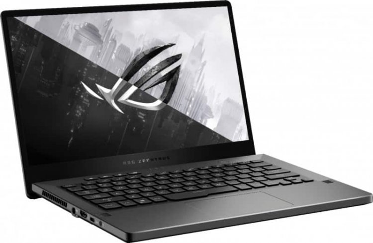 ASUS - ROG Zephyrus G14 14 Laptop - AMD Ryzen 7 4800HS - 8GB Memory - NVIDIA GeForce GTX 1650 - 512GB SSD - Eclipse Gray $799.99