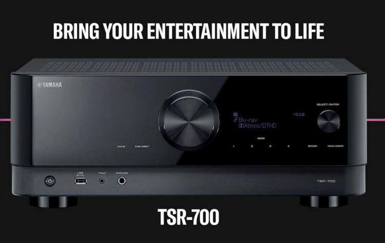 Yamaha TSR-700 7.2 Channel Receiver (similar to RX-V6A) at Costco Instore $399.99