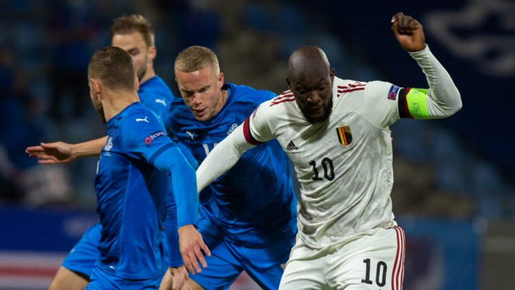 Lukaku salutes stand-in Iceland coach after narrow Belgium victory