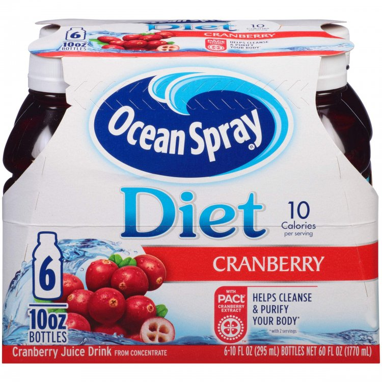*Back* 6-Pack 10-Oz Ocean Spray Diet Cranberry Juice $3.55 w/ S&S + Free S&H w/ Prime or $25+