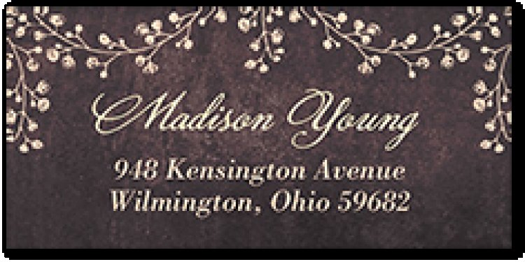 tinyprints: 120-Count Personalized Address Labels Free + $2 S/H