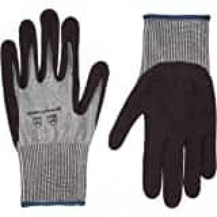 6-Count AmazonCommercial Cut Resistant Coated Work Gloves (X-Large) $6.90 & More