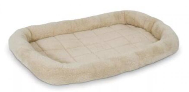 """16"""" Aspen Pet Bolster Crate Mat/Bed $7 & More + Free S/H on $25+"""