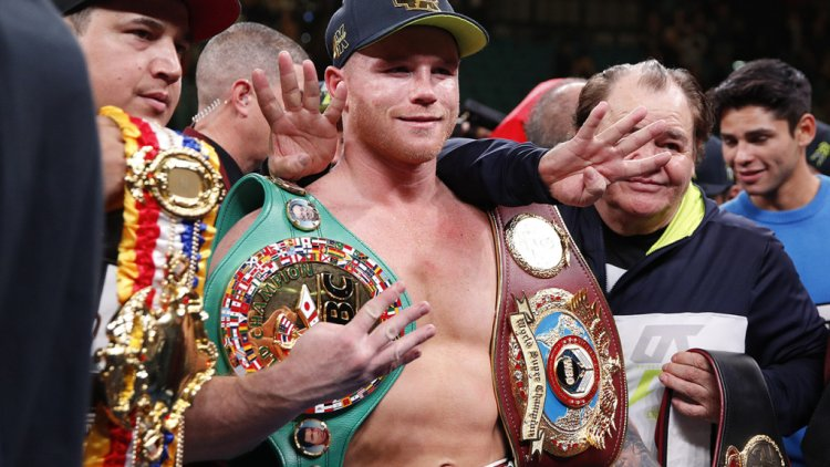 Canelo Alvarez's Record $365 Million Contract with DAZN is No More