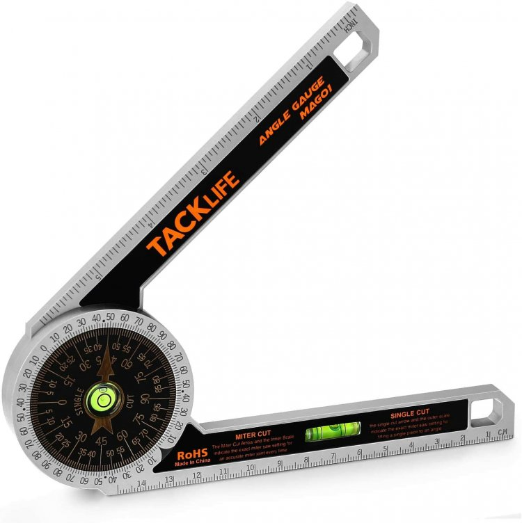 *FREE* Tacklife Miter Saw Protractor Angle Finder 0-7 Inch/Millimeter
