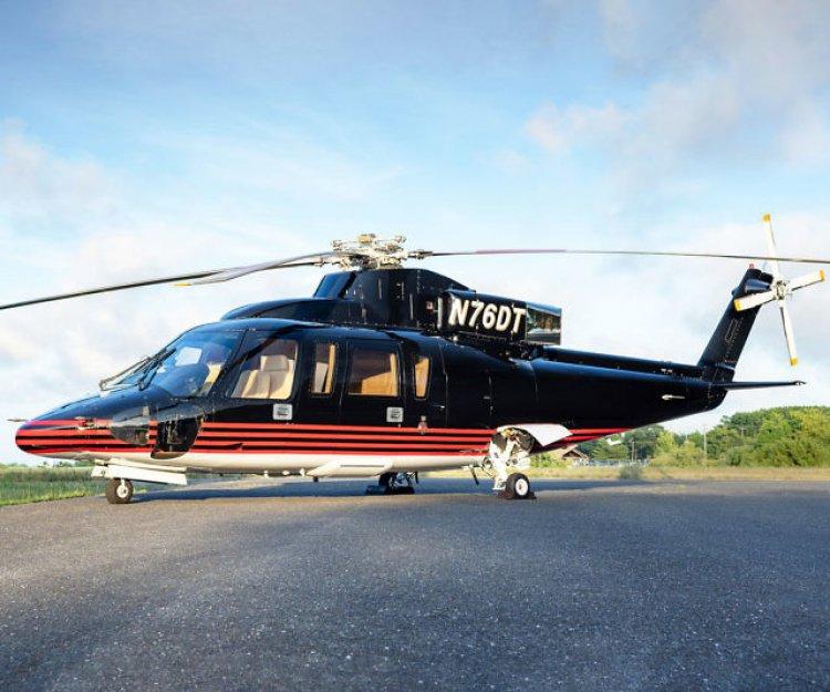 Trump's 1989 Sikorsky S76B Helicopter