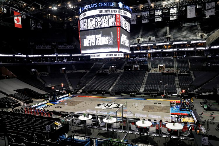 Nets 'can't wait' for fans to return — even if its only 300