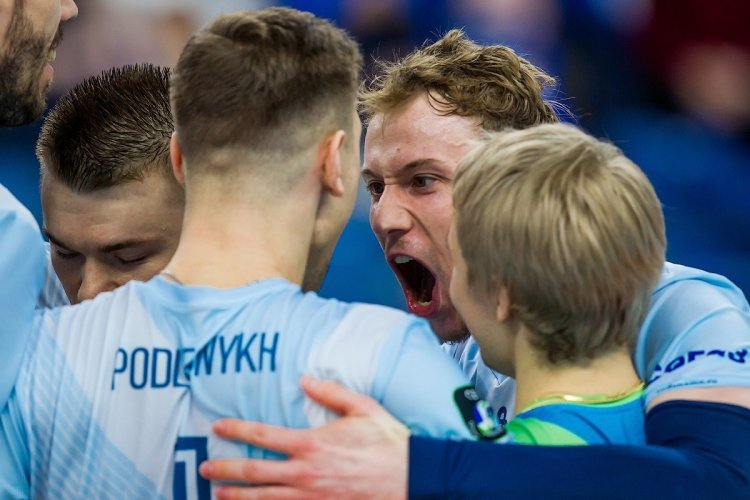 Dinamo Moscow prevail over Zenit St. Petersburg in 1st leg of historical Russian final of CEV Cup