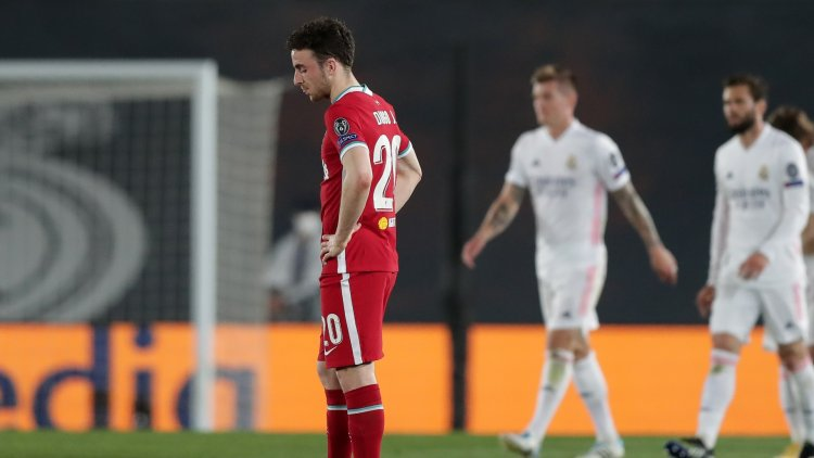 Liverpool hit 16-year Champions League low in first half at Real Madrid as Keita subbed off before half-time