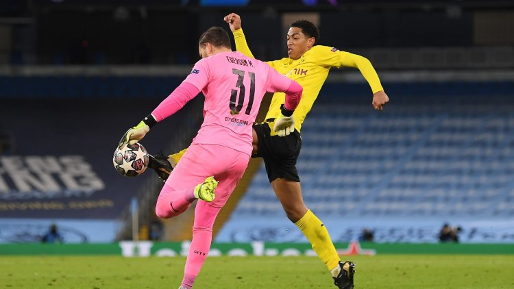 'This ref needs checking!' - Sancho vents fury at referee as Borussia Dortmund denied goal at Manchester City