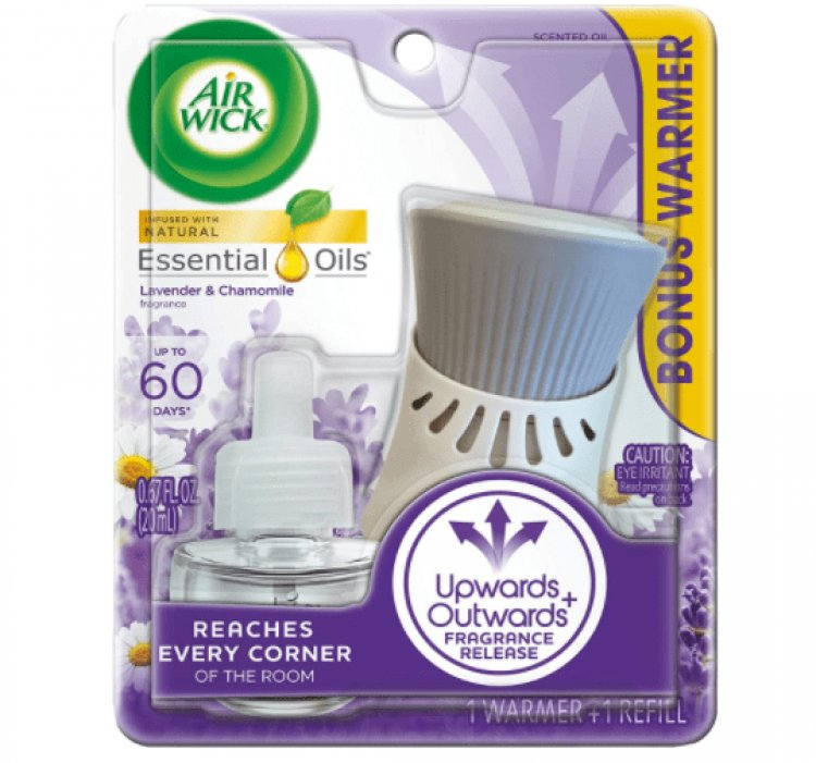 Amazon: Air Wick plug-in Scented Oil, Starter Kit...