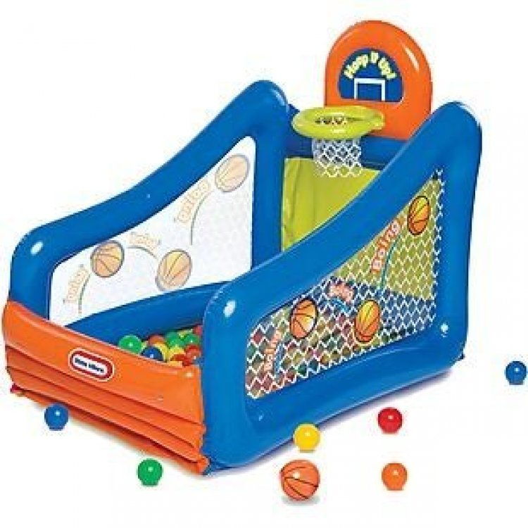 Walmart: Little Tikes Hoop It Up! Play Center Ball Pit Just $29.97 (Reg. $59.99)