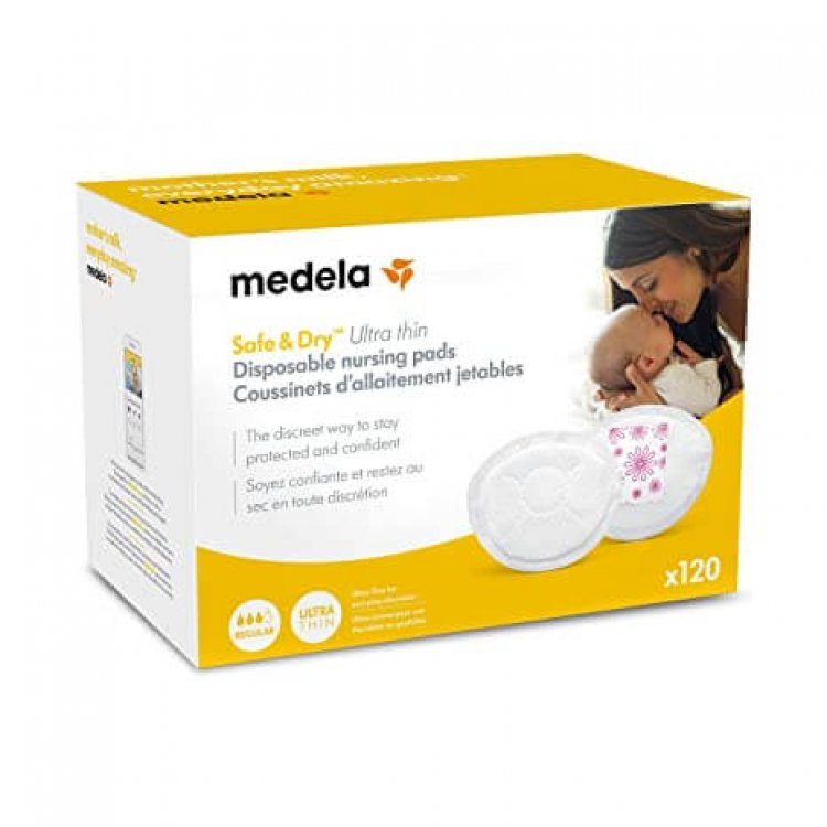 Amazon: Disposable Nursing Pads 120 Count for $6