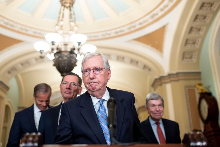 Republicans Begrudgingly Vote For Debt Limit Deal McConnell Made With Democrats